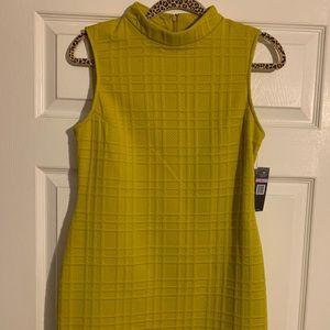 Mustard Yellow Sleeveless Dress